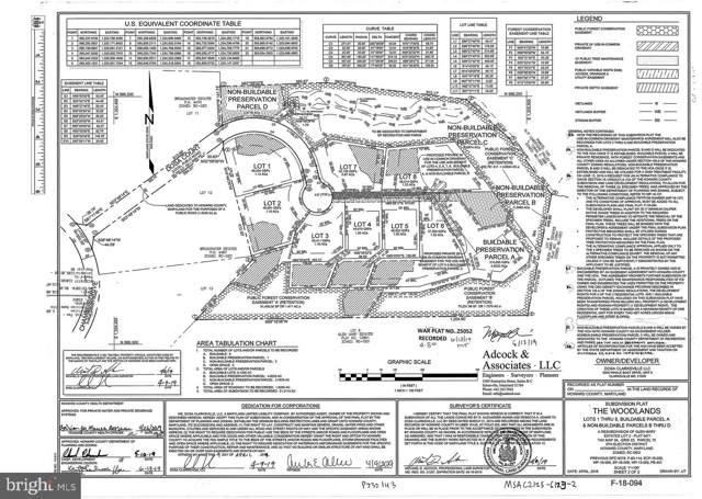 Lot 2 Dosa Court, CLARKSVILLE, MD 21029 (#MDHW274478) :: Mortensen Team