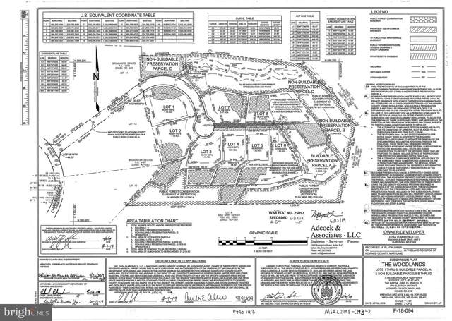 Lot 3 Dosa Court, CLARKSVILLE, MD 21029 (#MDHW274484) :: Corner House Realty