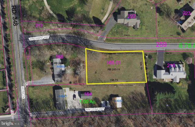Lot B Windward Way, DAGSBORO, DE 19939 (#DESU154630) :: RE/MAX Coast and Country
