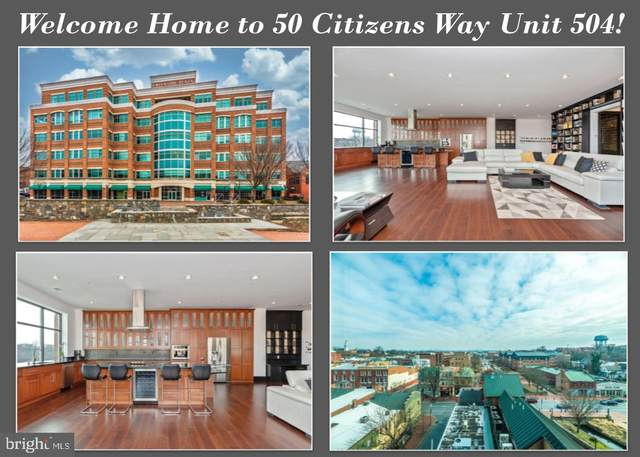 50 Citizens #504, FREDERICK, MD 21701 (#MDFR258906) :: SURE Sales Group