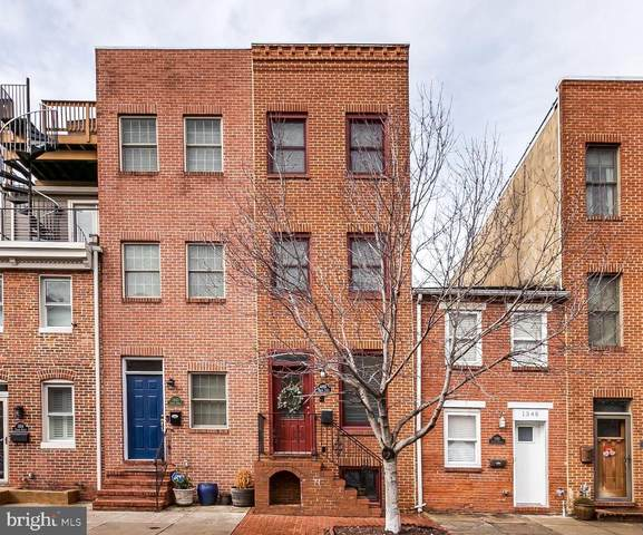 1350 Towson Street, BALTIMORE, MD 21230 (#MDBA497866) :: Advon Group