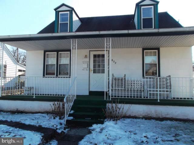 802 Warren Street, POTTSTOWN, PA 19464 (#PAMC636598) :: Ramus Realty Group