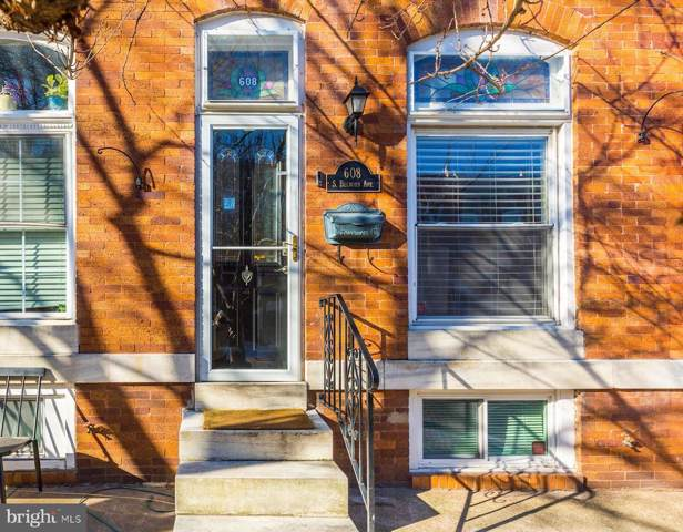 608 S Belnord Avenue, BALTIMORE, MD 21224 (#MDBA497978) :: The Dailey Group