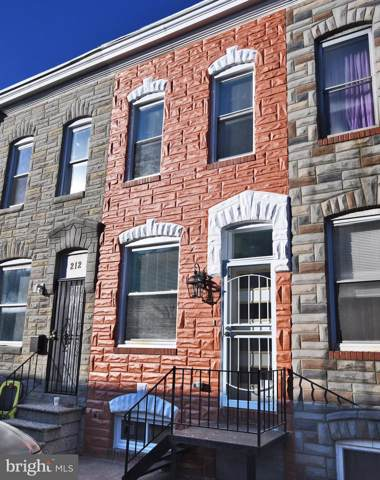 214 N Rose Street, BALTIMORE, MD 21224 (#MDBA498202) :: Better Homes Realty Signature Properties