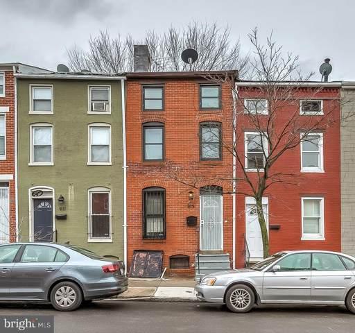 913 W Lombard Street, BALTIMORE, MD 21223 (#MDBA498230) :: The Vashist Group