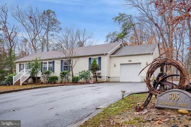 305 Grenadier Drive, RUTHER GLEN, VA 22546 (#VACV121532) :: Green Tree Realty