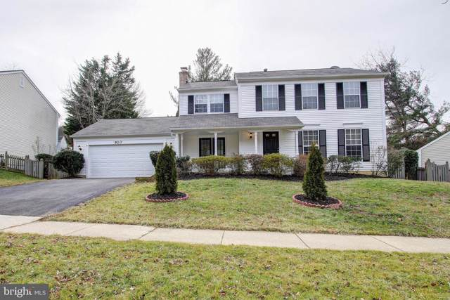 920 Pheasant Run Drive, GAITHERSBURG, MD 20878 (#MDMC693936) :: Bic DeCaro & Associates