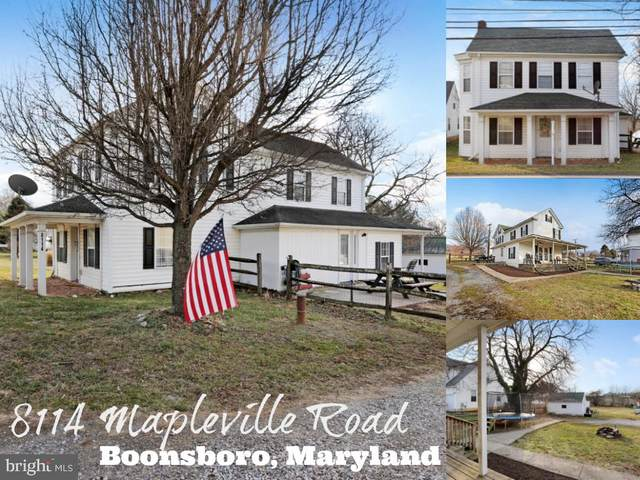 8114 Mapleville Road, BOONSBORO, MD 21713 (#MDWA170352) :: AJ Team Realty