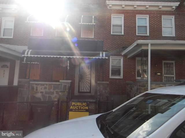 529 Sheridan Avenue, BALTIMORE, MD 21212 (#MDBA499088) :: The Vashist Group