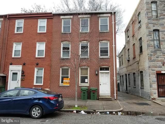 128 S Schroeder Street, BALTIMORE, MD 21223 (#MDBA499210) :: The Vashist Group