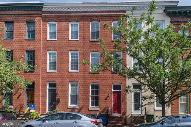 708 Portland Street, BALTIMORE, MD 21230 (#MDBA499258) :: The Miller Team