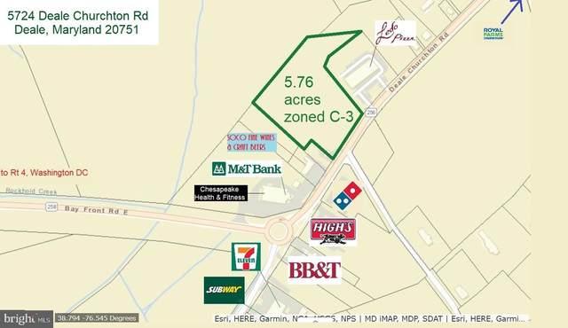 5724 Deale Churchton Road, DEALE, MD 20751 (#MDAA424662) :: The Yellow Door Team