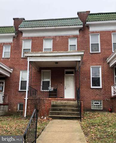 14 S Tremont Road, BALTIMORE, MD 21229 (#MDBA499614) :: The Vashist Group