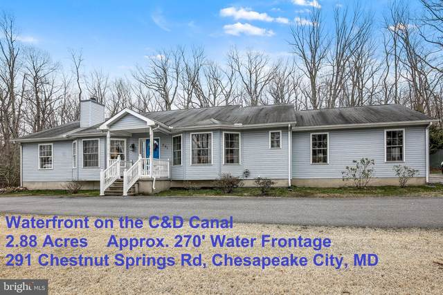 291 Chestnut Springs Road, CHESAPEAKE CITY, MD 21915 (#MDCC167952) :: The Gus Anthony Team