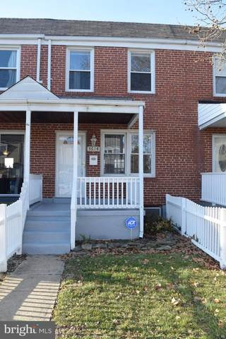3614 Clarenell Road, BALTIMORE, MD 21229 (#MDBA499730) :: The Vashist Group