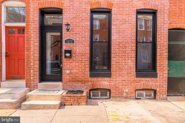 1420 S Hanover Street, BALTIMORE, MD 21230 (#MDBA500054) :: The Dailey Group