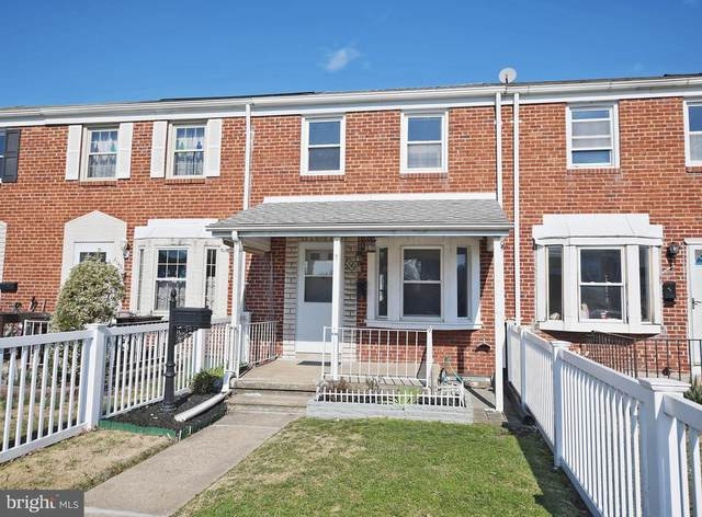 8148 Kavanagh Road, BALTIMORE, MD 21222 (#MDBC485484) :: The Gus Anthony Team