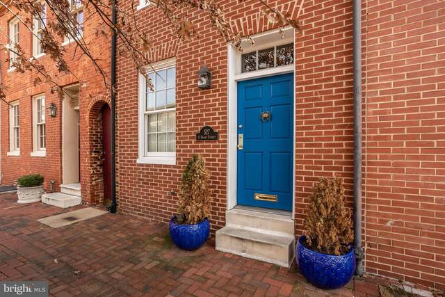 527 S Sharp Street, BALTIMORE, MD 21201 (#MDBA500688) :: The Vashist Group