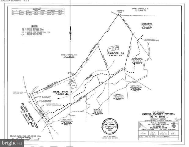 4821 Blaydes Corner Road, SPOTSYLVANIA, VA 22551 (#VASP219644) :: RE/MAX Cornerstone Realty