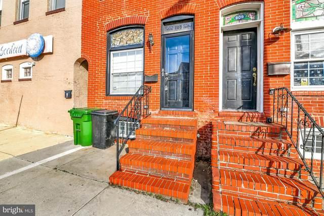 807 S Montford Avenue, BALTIMORE, MD 21224 (#MDBA500812) :: Revol Real Estate