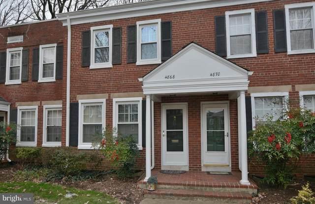 4868 28TH Street S, ARLINGTON, VA 22206 (#VAAR159390) :: Dart Homes
