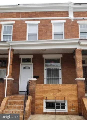 817 N Linwood Avenue, BALTIMORE, MD 21205 (#MDBA501010) :: The Kenita Tang Team