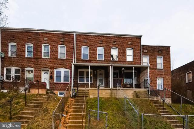 2749 Round Road, BALTIMORE, MD 21225 (#MDBA501032) :: The Vashist Group