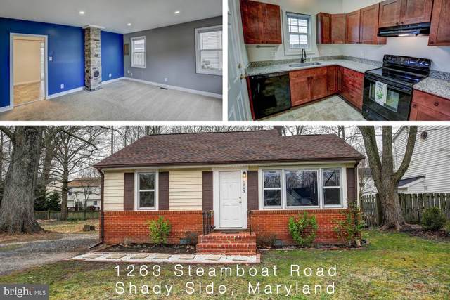 1263 Steamboat Road, SHADY SIDE, MD 20764 (#MDAA426144) :: Talbot Greenya Group