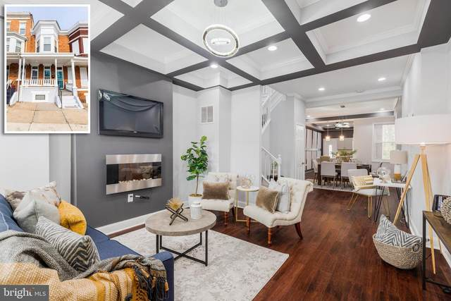 3645 Park Heights Avenue, BALTIMORE, MD 21215 (#MDBA501216) :: The Vashist Group