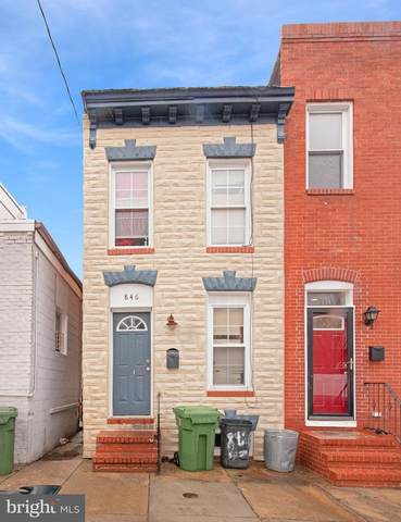 846 Woodward Street, BALTIMORE, MD 21230 (#MDBA501334) :: ExecuHome Realty