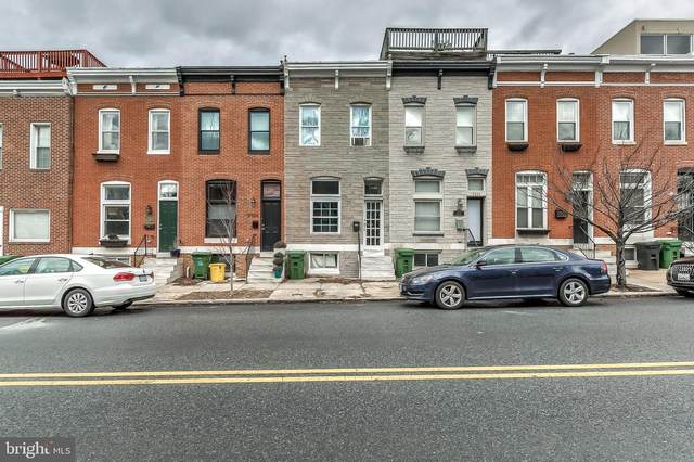 2928 Hudson Street, BALTIMORE, MD 21224 (#MDBA501526) :: The Miller Team