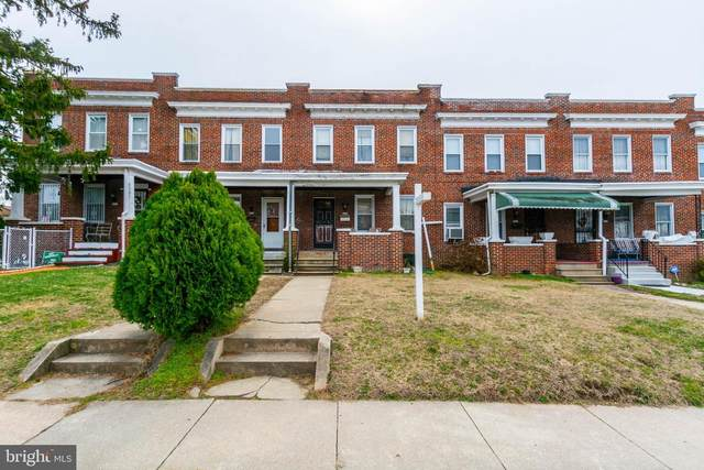 3205 Normount Avenue, BALTIMORE, MD 21216 (#MDBA501630) :: Jacobs & Co. Real Estate