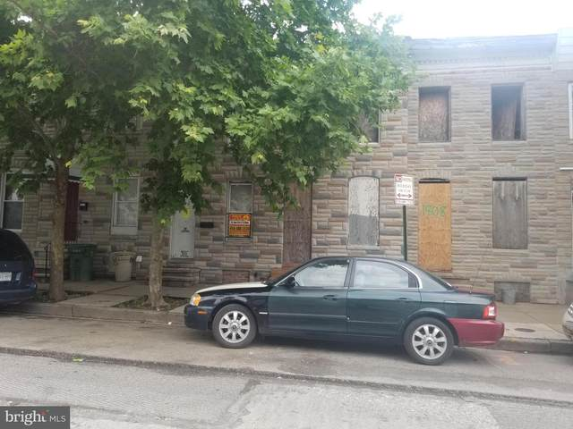 1812 Ramsay Street, BALTIMORE, MD 21223 (#MDBA501758) :: The Miller Team