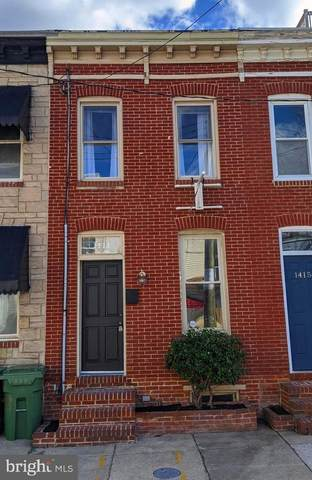 1413 Olive Street, BALTIMORE, MD 21230 (#MDBA502000) :: Advon Group
