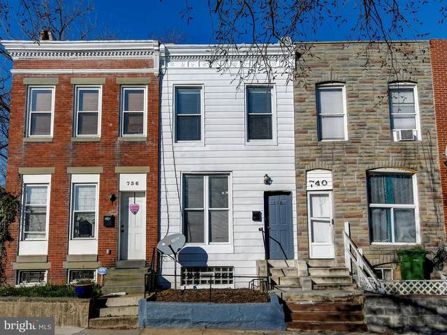 738 E 30TH Street, BALTIMORE, MD 21218 (#MDBA502058) :: Bob Lucido Team of Keller Williams Integrity
