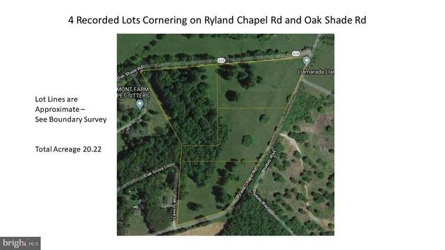 Oak Shade And Ryland Chapel Road, JEFFERSONTON, VA 22724 (#VACU140802) :: Bic DeCaro & Associates