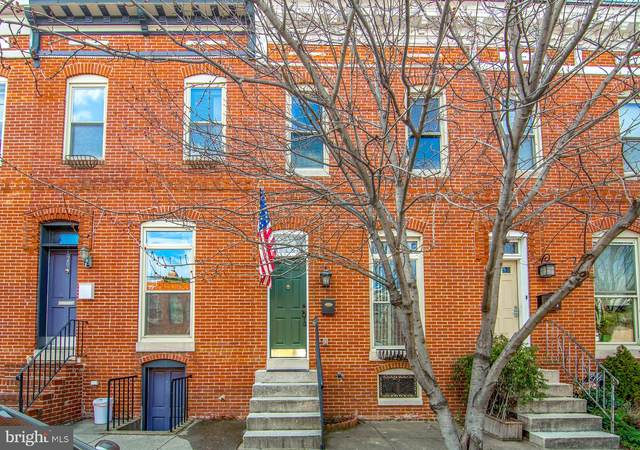 122 N Montford Avenue, BALTIMORE, MD 21224 (#MDBA502390) :: Radiant Home Group