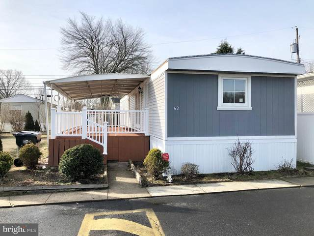 43 Spartan Village Dr, WRIGHTSTOWN, NJ 08562 (#NJBL368232) :: Charis Realty Group