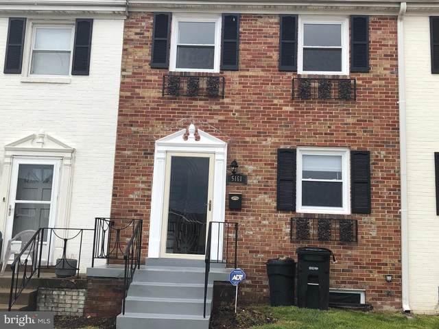 5161 Clacton Avenue #52, SUITLAND, MD 20746 (#MDPG561646) :: Bob Lucido Team of Keller Williams Integrity