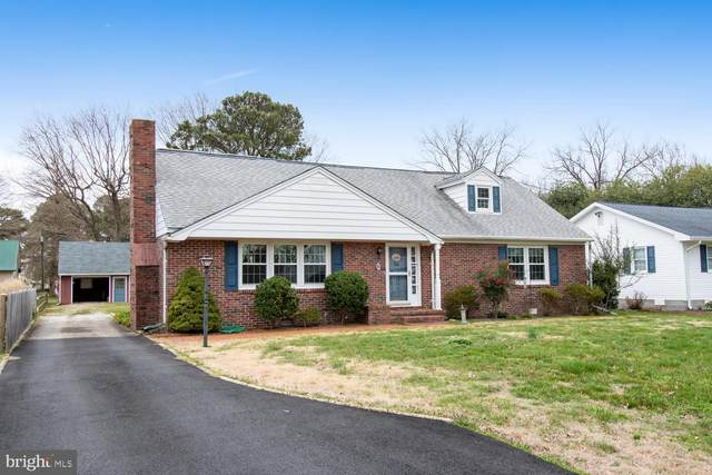6 Somerset Avenue, CAMBRIDGE, MD 21613 (#MDDO125162) :: Bob Lucido Team of Keller Williams Integrity