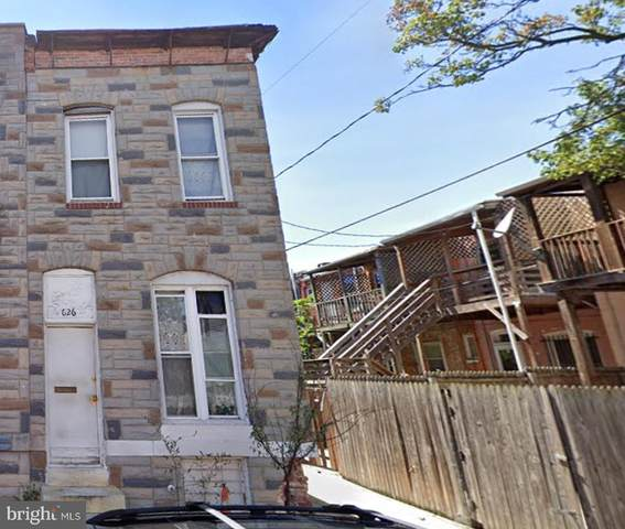 626 N Glover Street, BALTIMORE, MD 21205 (#MDBA504242) :: ExecuHome Realty