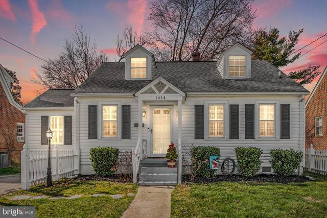 1414 Augustine Avenue, FREDERICKSBURG, VA 22401 (#VAFB116736) :: Dart Homes