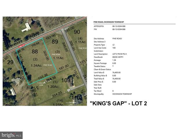 Kings Gap - Pine Road Lot 2, CARLISLE, PA 17015 (#PACB122468) :: Lee Tessier Team