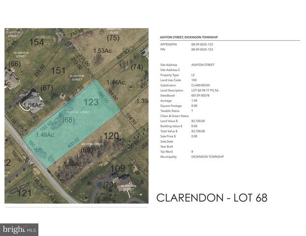 Clarendon - Ashton Street Lot 68, CARLISLE, PA 17015 (#PACB122484) :: The Joy Daniels Real Estate Group