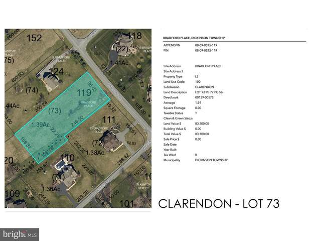 Clarendon - Bradford Place Lot 73, CARLISLE, PA 17015 (#PACB122486) :: The Joy Daniels Real Estate Group