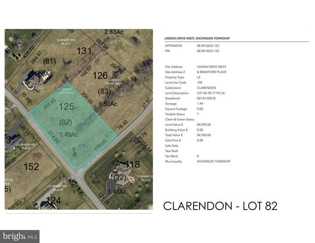 Clarendon - Linden Drive W Lot 82, CARLISLE, PA 17015 (#PACB122490) :: The Joy Daniels Real Estate Group