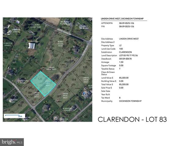 Clarendon - Linden Drive W Lot 83, CARLISLE, PA 17015 (#PACB122494) :: The Joy Daniels Real Estate Group