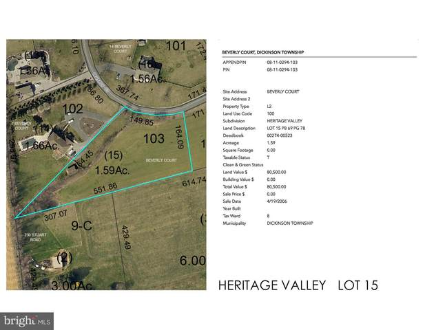 Heritage Valley - Beverly Court Lot 15, CARLISLE, PA 17015 (#PACB122512) :: Mortensen Team