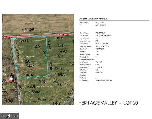 Heritage Valley - Stuart Road Lot 20, CARLISLE, PA 17015 (#PACB122514) :: Mortensen Team