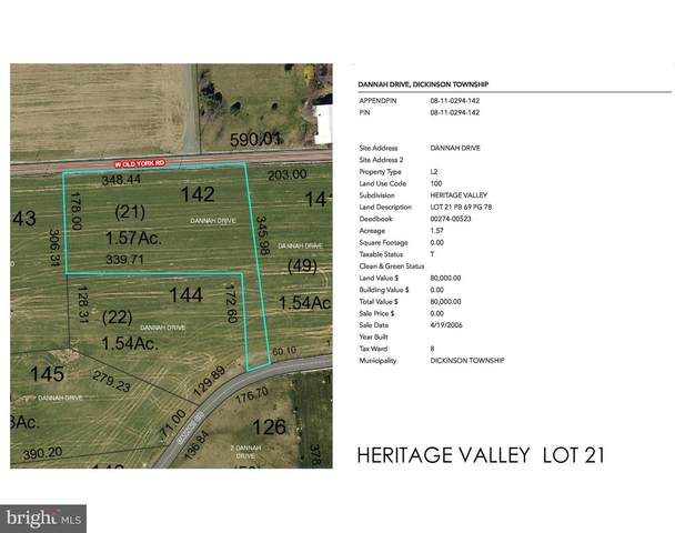 Heritage Valley - Dannah Drive Lot 21, CARLISLE, PA 17015 (#PACB122516) :: Mortensen Team